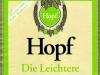 Hopf Die Leichtere ▶ Gallery 2401 ▶ Image 8014 (Label • Этикетка)