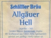 Allgäuer Hell ▶ Gallery 2592 ▶ Image 8731 (Back Label • Контрэтикетка)