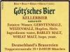 Götz'sches Bier Kellerbier Naturtrüb ▶ Gallery 2813 ▶ Image 9676 (Back Label • Контрэтикетка)