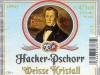 Hacker-Pschorr Weisse Kristall ▶ Gallery 1588 ▶ Image 4784 (Label • Этикетка)