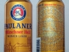 Paulaner Münchner Hell ▶ Gallery 2325 ▶ Image 7744 (Can • Банка)