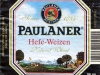 Paulaner Hefe-Weizen Natural Wheat ▶ Gallery 2533 ▶ Image 8513 (Label • Этикетка)