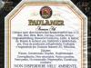 Paulaner Premium Pils ▶ Gallery 2532 ▶ Image 8504 (Back Label • Контрэтикетка)
