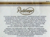 Radeberger Pilsner ▶ Gallery 1589 ▶ Image 4786 (Back Label • Контрэтикетка)