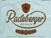 Radeberger Pilsner ▶ Gallery 1589 ▶ Image 4787 (Label • Этикетка)