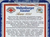 Weltenburger Kloster Anno 1050 ▶ Gallery 1761 ▶ Image 5426 (Back Label • Контрэтикетка)