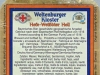 Weltenburger Kloster Hefe-Weißbier Hell ▶ Gallery 1762 ▶ Image 5429 (Back Label • Контрэтикетка)