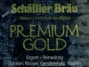 Schäffler Premium Gold ▶ Gallery 1834 ▶ Image 8735 (Back Label • Контрэтикетка)