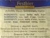 Zoller-Hof Festbier ▶ Gallery 2548 ▶ Image 8561 (Back Label • Контрэтикетка)
