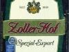 Zoller-Hof Spezial-Export ▶ Gallery 1382 ▶ Image 6138 (Label • Этикетка)
