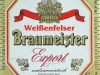 Weißenfelser Braumeister Export ▶ Gallery 1765 ▶ Image 5442 (Label • Этикетка)