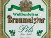 Weißenfelser Braumeister Pils ▶ Gallery 1764 ▶ Image 5440 (Label • Этикетка)