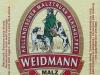 Weidmann Malztrunk Alkoholfrei ▶ Gallery 465 ▶ Image 1232 (Label • Этикетка)