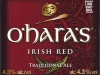 O'Hara's Irish Red ▶ Gallery 2128 ▶ Image 6869 (Label • Этикетка)