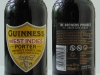 Guinness West Indies Porter ▶ Gallery 2023 ▶ Image 6407 (Glass Bottle • Стеклянная бутылка)