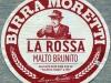 Birra Moretti La Rossa ▶ Gallery 812 ▶ Image 2177 (Label • Этикетка)