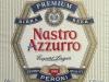 Nastro Azzurro Premium Export Lager ▶ Gallery 409 ▶ Image 1000 (Label • Этикетка)