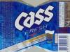 Cass Fresh Lager ▶ Gallery 2124 ▶ Image 7102 (Label • Этикетка)