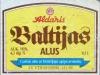 Baltijas alus ▶ Gallery 1431 ▶ Image 4164 (Label • Этикетка)