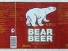 Bear Beer dark ▶ Gallery 1422 ▶ Image 4122 (Wrap Around Label • Круговая этикетка)