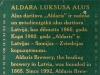 Aldara Luksusa alus ▶ Gallery 1428 ▶ Image 4146 (Back Label • Контрэтикетка)