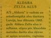 Aldara Zelta alus ▶ Gallery 1429 ▶ Image 4151 (Back Label • Контрэтикетка)