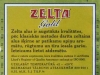 Zelta Gold ▶ Gallery 1426 ▶ Image 4140 (Back Label • Контрэтикетка)