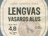 Lengvas vasaros alus ▶ Gallery 2575 ▶ Image 8687 (Label • Этикетка)