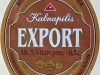 Kalnapilis Export ▶ Gallery 1440 ▶ Image 4175 (Label • Этикетка)