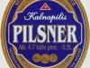 Kalnapilis Pilsner ▶ Gallery 1441 ▶ Image 4181 (Label • Этикетка)
