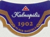 Kalnapilis Pilsner ▶ Gallery 1441 ▶ Image 4183 (Neck Label • Кольеретка)