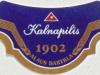 Kalnapilis Pilsner ▶ Gallery 1441 ▶ Image 4183 (Neck Label • Кольеретка)
