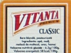 Vitanta Premium Classic ▶ Gallery 1269 ▶ Image 3675 (Back Label • Контрэтикетка)