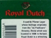 Royal Dutch Pilsner Lager ▶ Gallery 2415 ▶ Image 8054 (Back Label • Контрэтикетка)