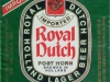 Royal Dutch Pilsner Lager ▶ Gallery 2415 ▶ Image 8055 (Label • Этикетка)