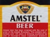 Amstel Lager ▶ Gallery 2417 ▶ Image 8059 (Back Label • Контрэтикетка)
