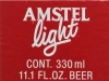 Amstel Light ▶ Gallery 2416 ▶ Image 8056 (Back Label • Контрэтикетка)