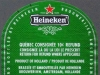 Heineken Lager ▶ Gallery 2184 ▶ Image 7177 (Back Label • Контрэтикетка)