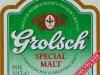 Grolsch Special Malt Alcohol Free ▶ Gallery 2508 ▶ Image 8344 (Label • Этикетка)