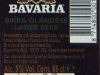 Bavaria Lager ▶ Gallery 2515 ▶ Image 8400 (Back Label • Контрэтикетка)