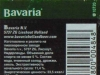 Bavaria Lager ▶ Gallery 2515 ▶ Image 8403 (Back Label • Контрэтикетка)