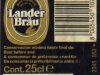 Lander Bräu ▶ Gallery 2521 ▶ Image 8429 (Back Label • Контрэтикетка)