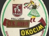 O.K.beer OKocim ▶ Gallery 421 ▶ Image 1045 (Label • Этикетка)