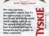 Tyskie Gronie ▶ Gallery 1377 ▶ Image 3996 (Back Label • Контрэтикетка)