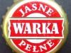 Warka Jasne Pełne ▶ Gallery 427 ▶ Image 1244 (Bottle Cap • Пробка)