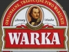 Warka Jasne Pełne ▶ Gallery 427 ▶ Image 1060 (Label • Этикетка)