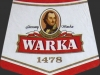 Warka Jasne Pełne ▶ Gallery 427 ▶ Image 1061 (Neck Label • Кольеретка)
