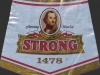 Warka Strong ▶ Gallery 428 ▶ Image 1064 (Neck Label • Кольеретка)