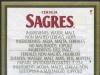 Sagres ▶ Gallery 309 ▶ Image 710 (Back Label • Контрэтикетка)