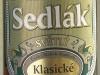 Sedlák Klasické Světlý ▶ Gallery 404 ▶ Image 991 (Glass Bottle • Стеклянная бутылка)